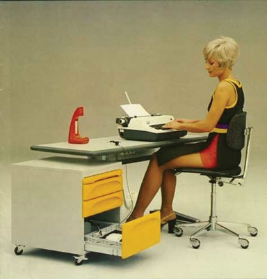 outdated office furniture?