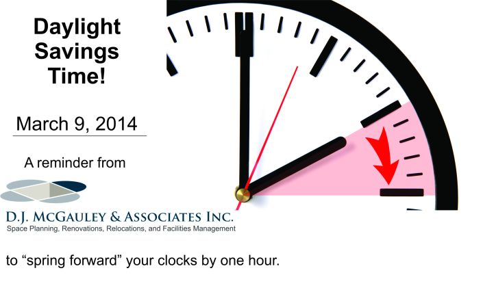 Daylight Savings Time reminder