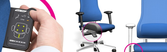 Smart Office Chair that give feedback on one's sitting posture