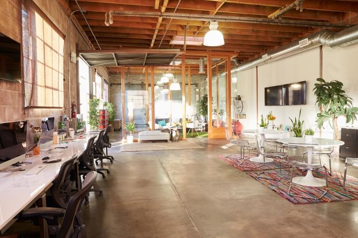 modern open office space design