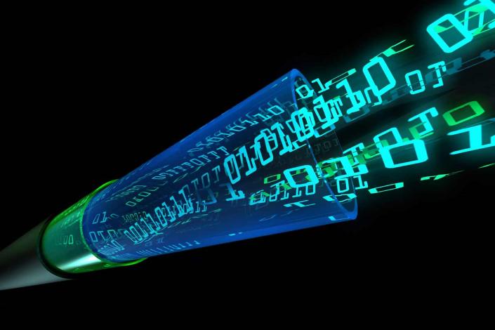fibre optics binary