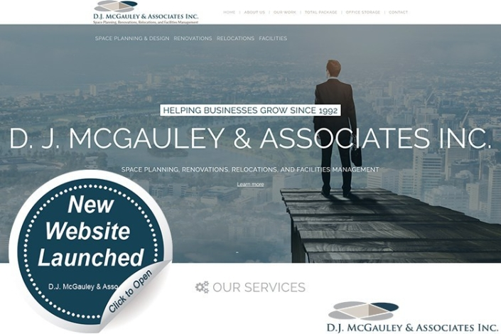 D.J. McGauley & Associates' Newly Redesigned Website